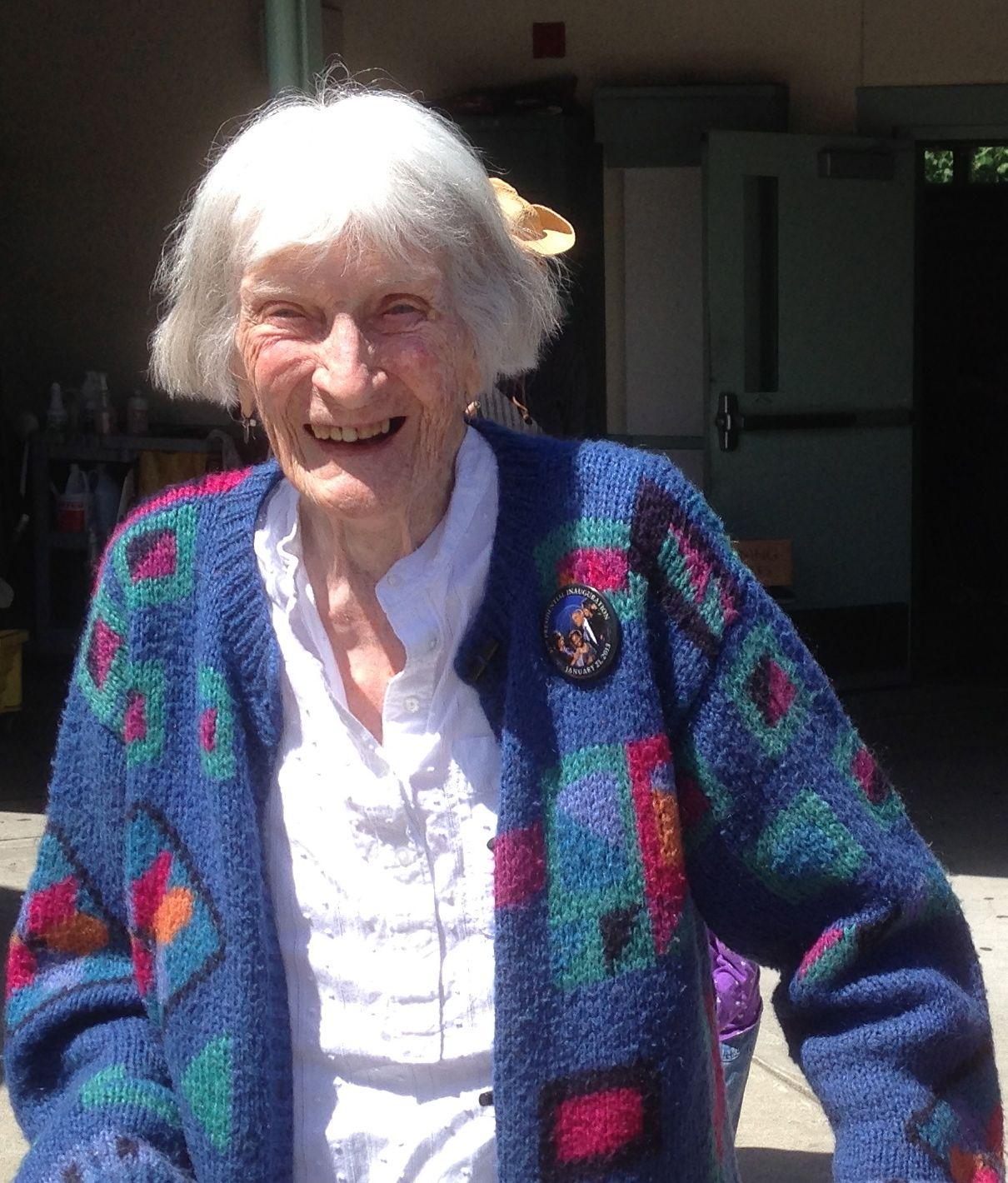 Barbara Graves 100